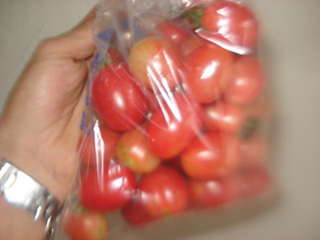 E mais tomatinhos!!!